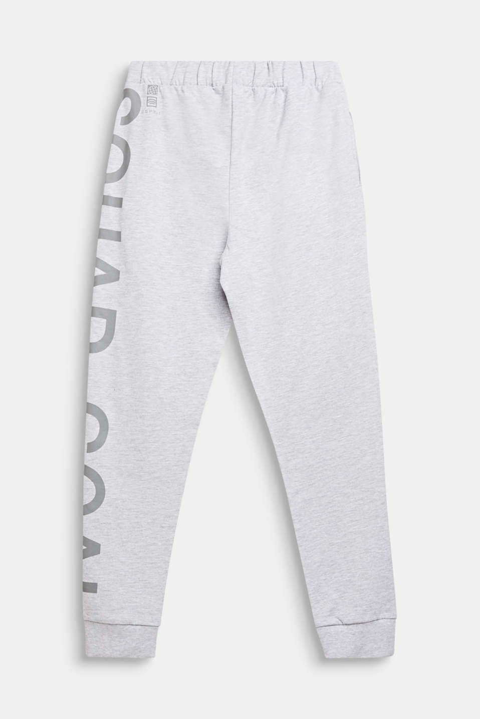 Tracksuit bottoms with a print, LCHEATHER SILVER, detail image number 1