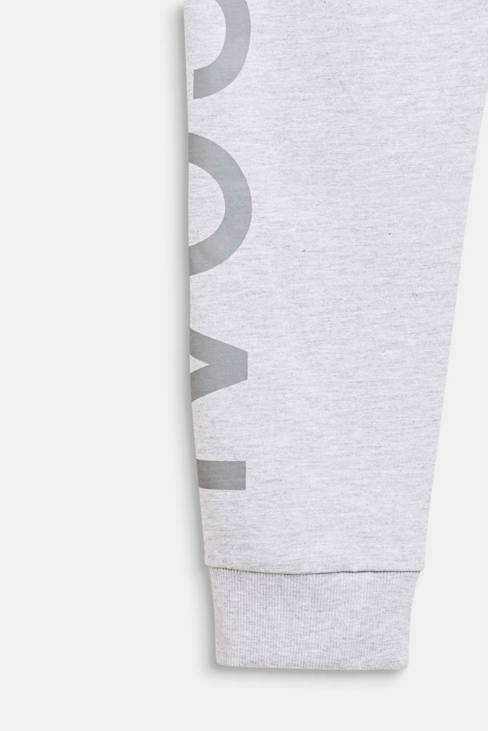 Tracksuit bottoms with a print, LCHEATHER SILVER, detail image number 2