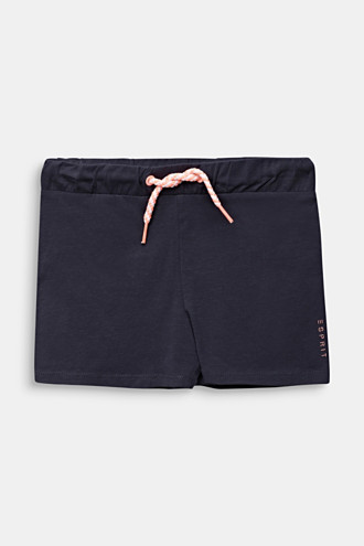 Jersey shorts made of stretch cotton