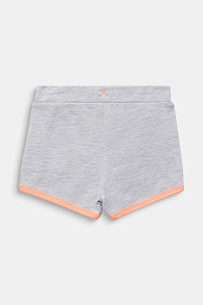 Sweat shorts with NEON, 100% cotton