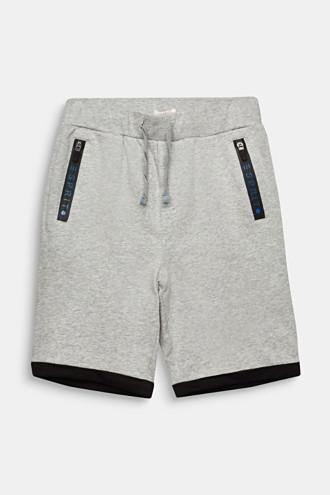 Sweat shorts, 100% cotton