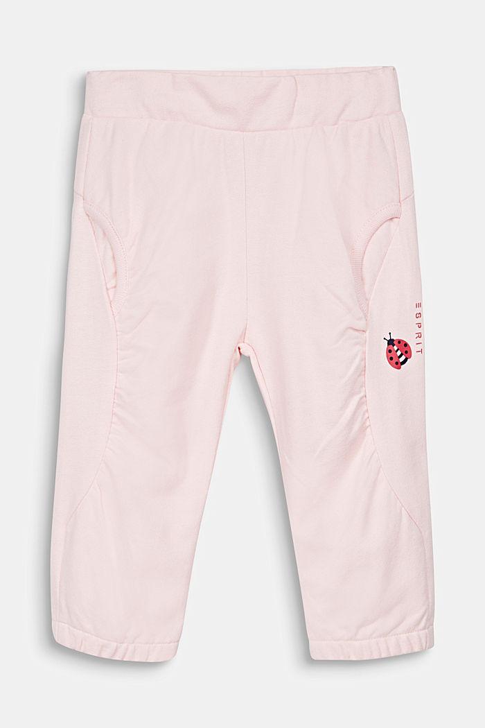 Sweat-Hose mit Käfer-Print, 100% Baumwolle, LIGHT PINK, detail image number 0