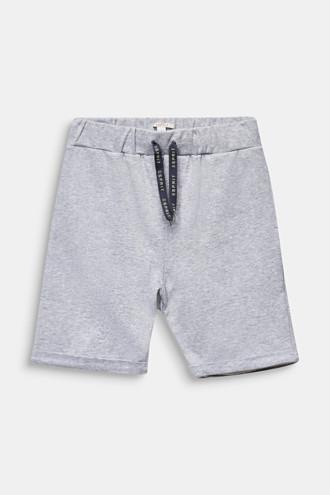 Sweatshirt shorts in 100% cotton
