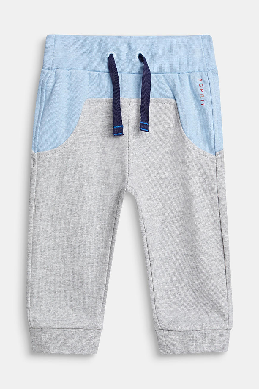 Sweat-Pants im Color-Block-Style