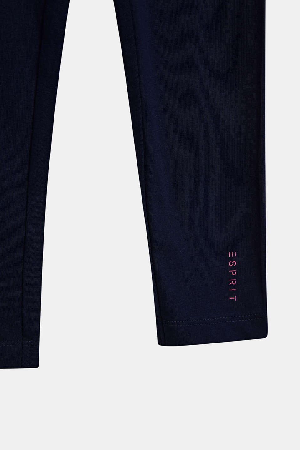 Opaque basic leggings, LCMIDNIGHT BLUE, detail image number 2