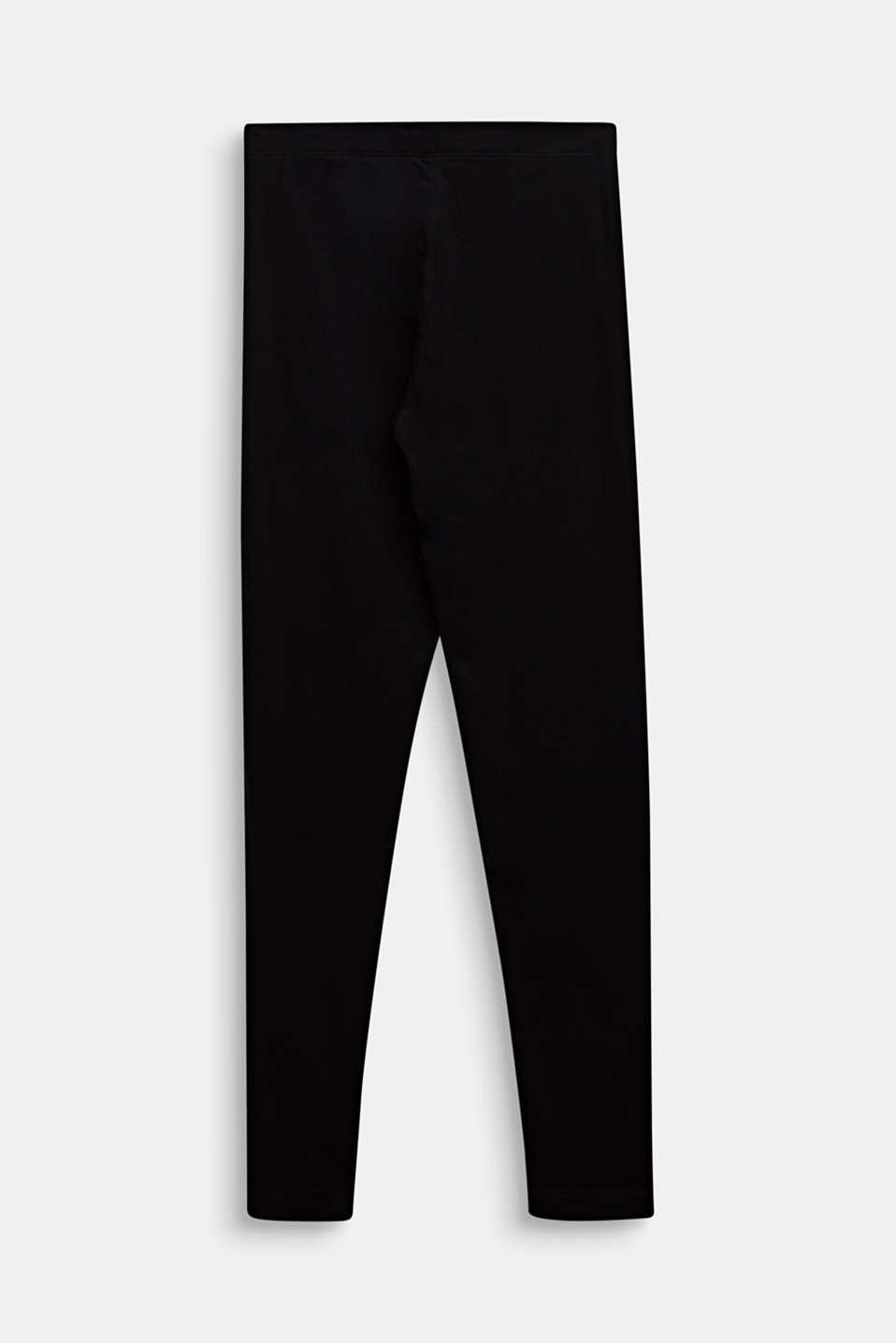 Opaque basic leggings, LCBLACK, detail image number 1