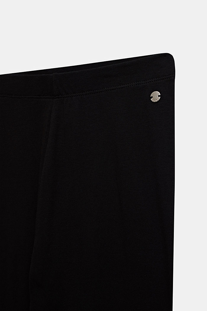 Opaque basic leggings, LCBLACK, detail image number 2
