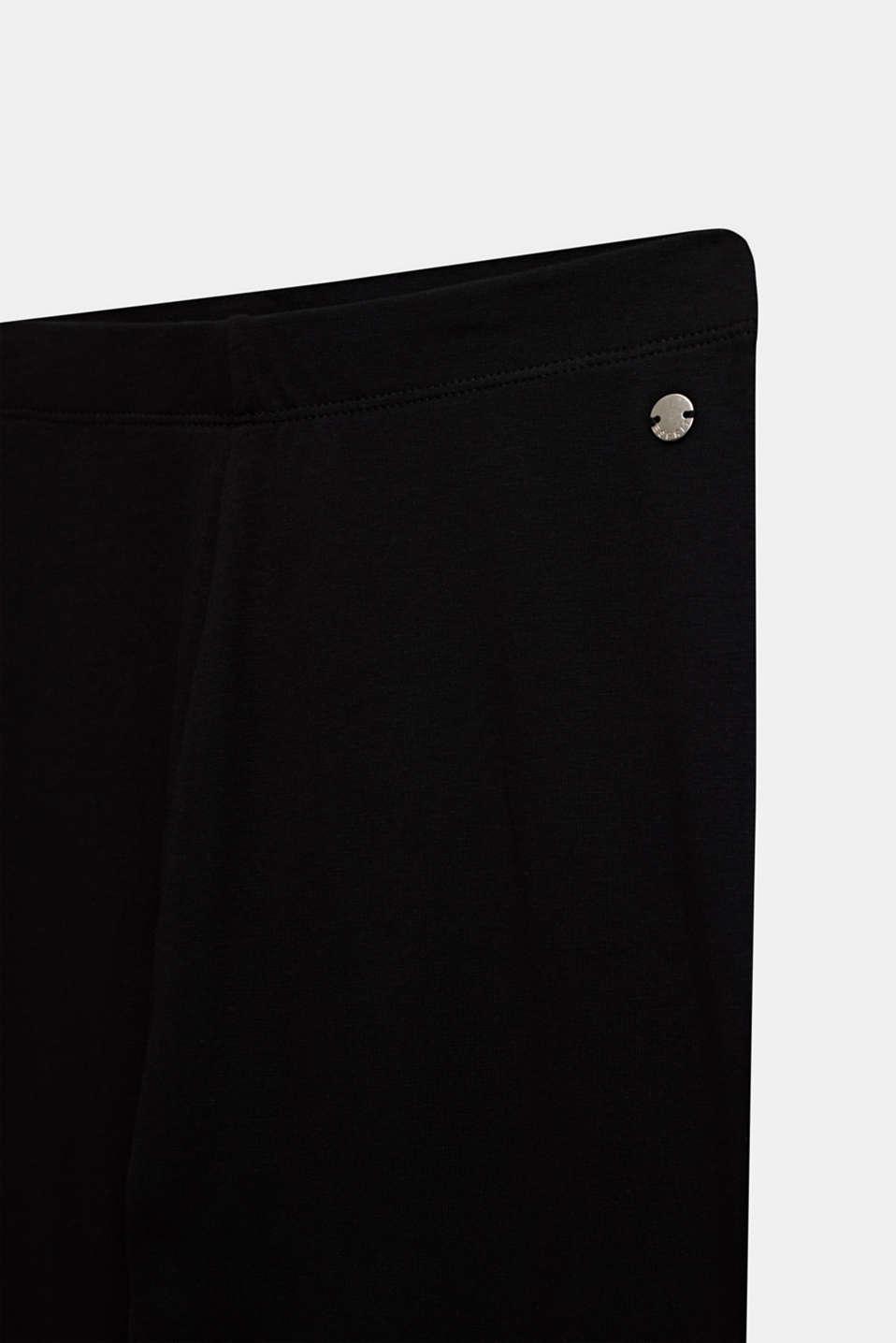 Opaque basic leggings, LCBLACK, detail image number 2