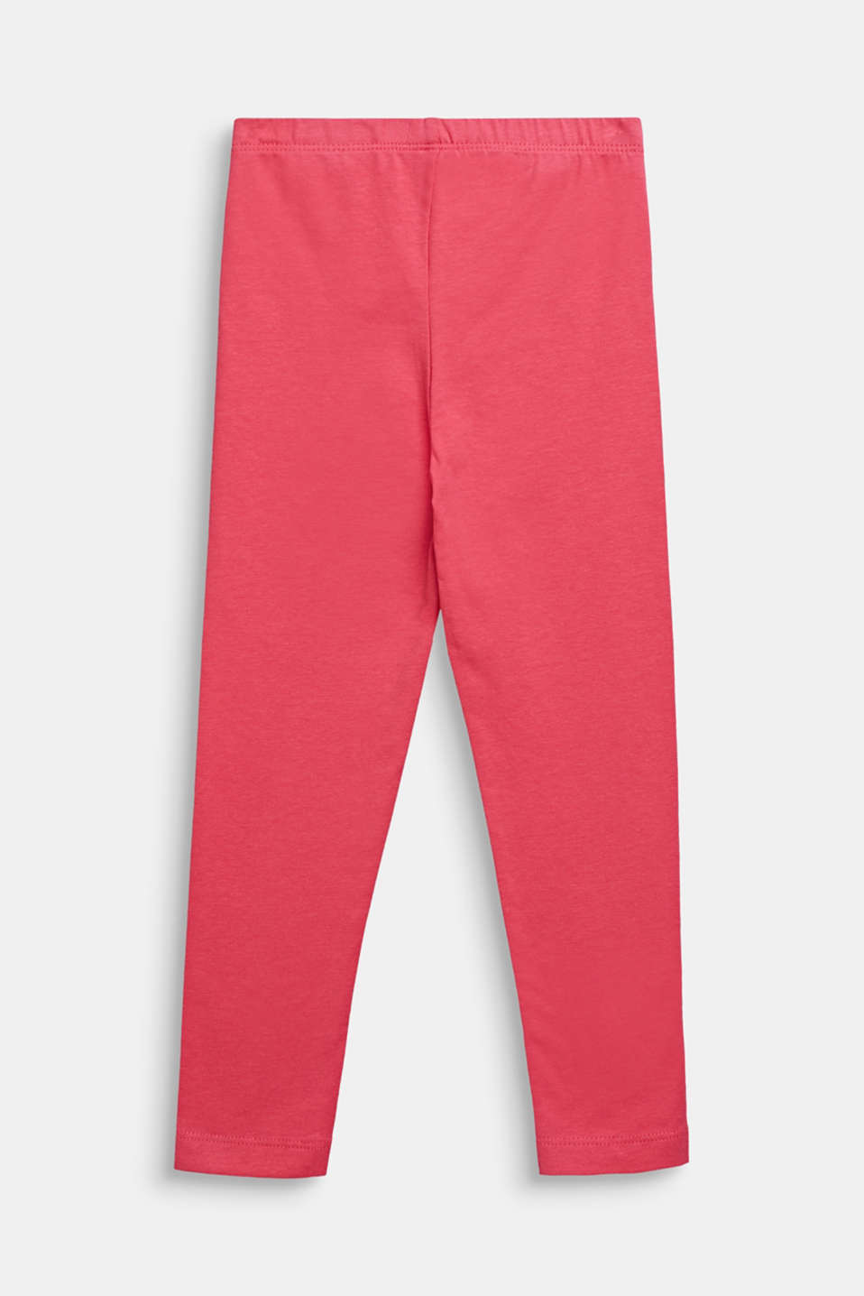 Opaque basic leggings, DARK PINK, detail image number 1