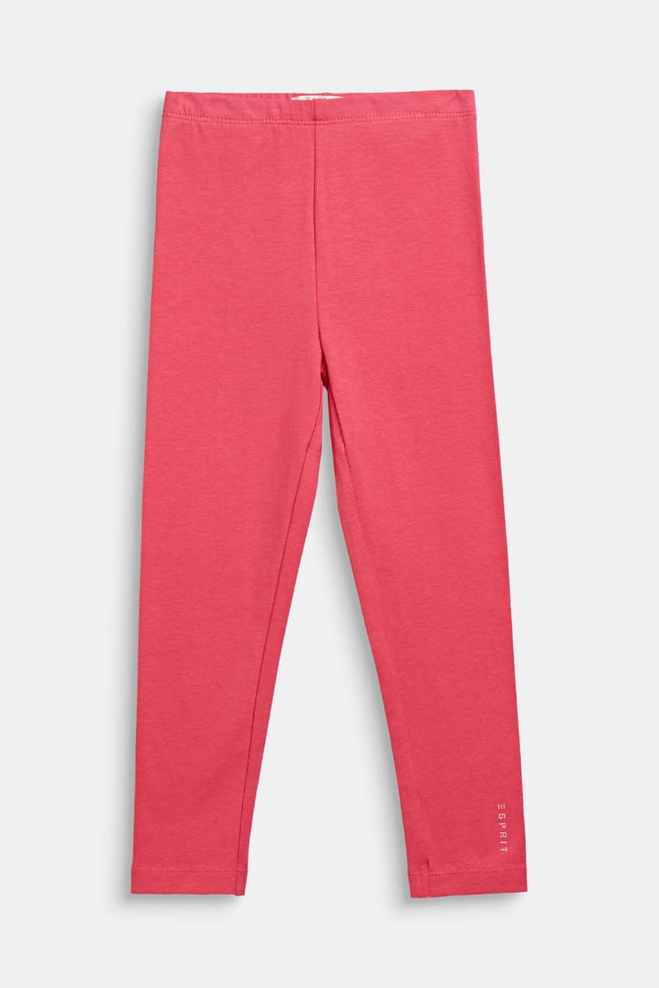 Opaque basic leggings, DARK PINK, detail image number 0