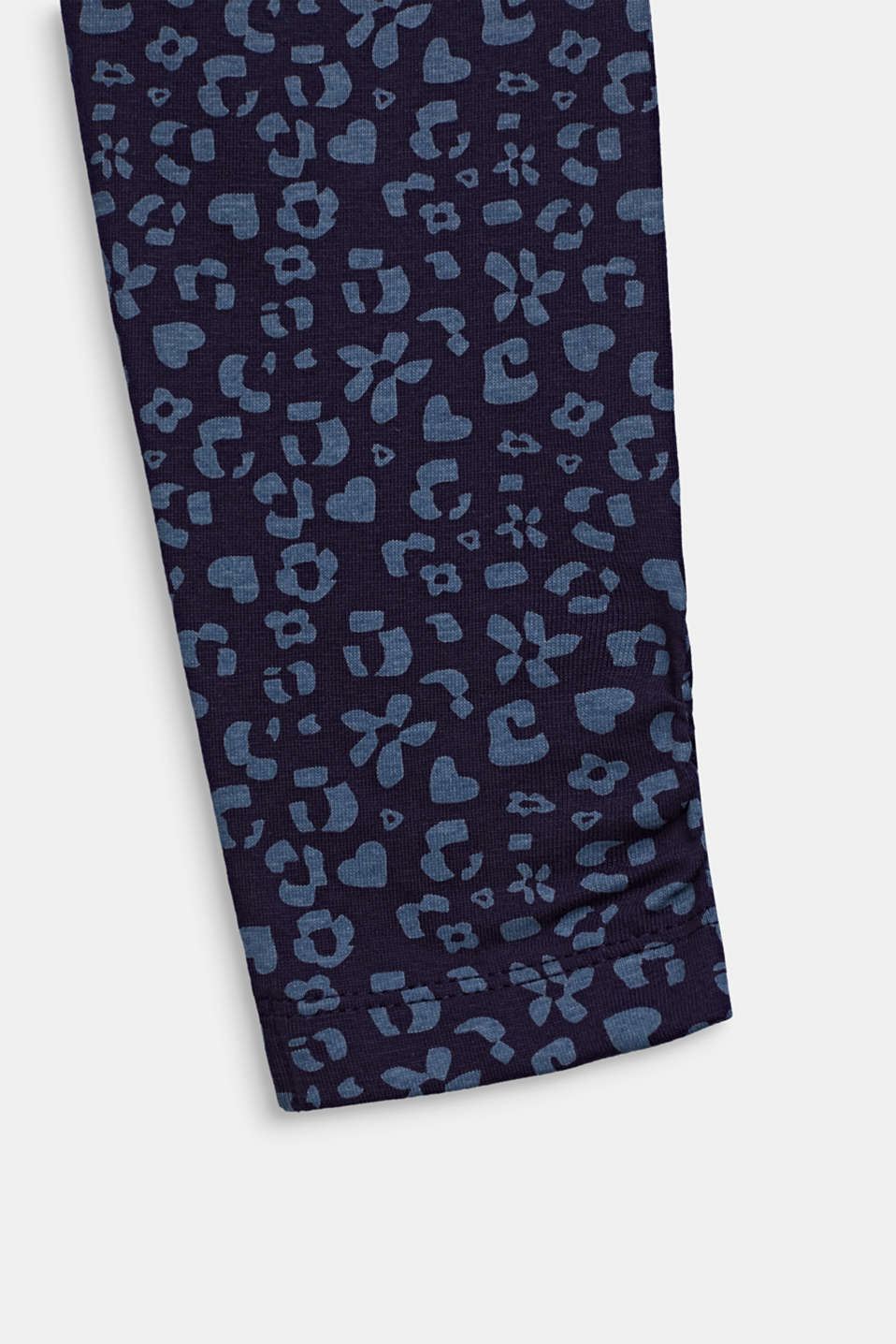 Leggings with a printed pattern, NIGHT BLUE, detail image number 3