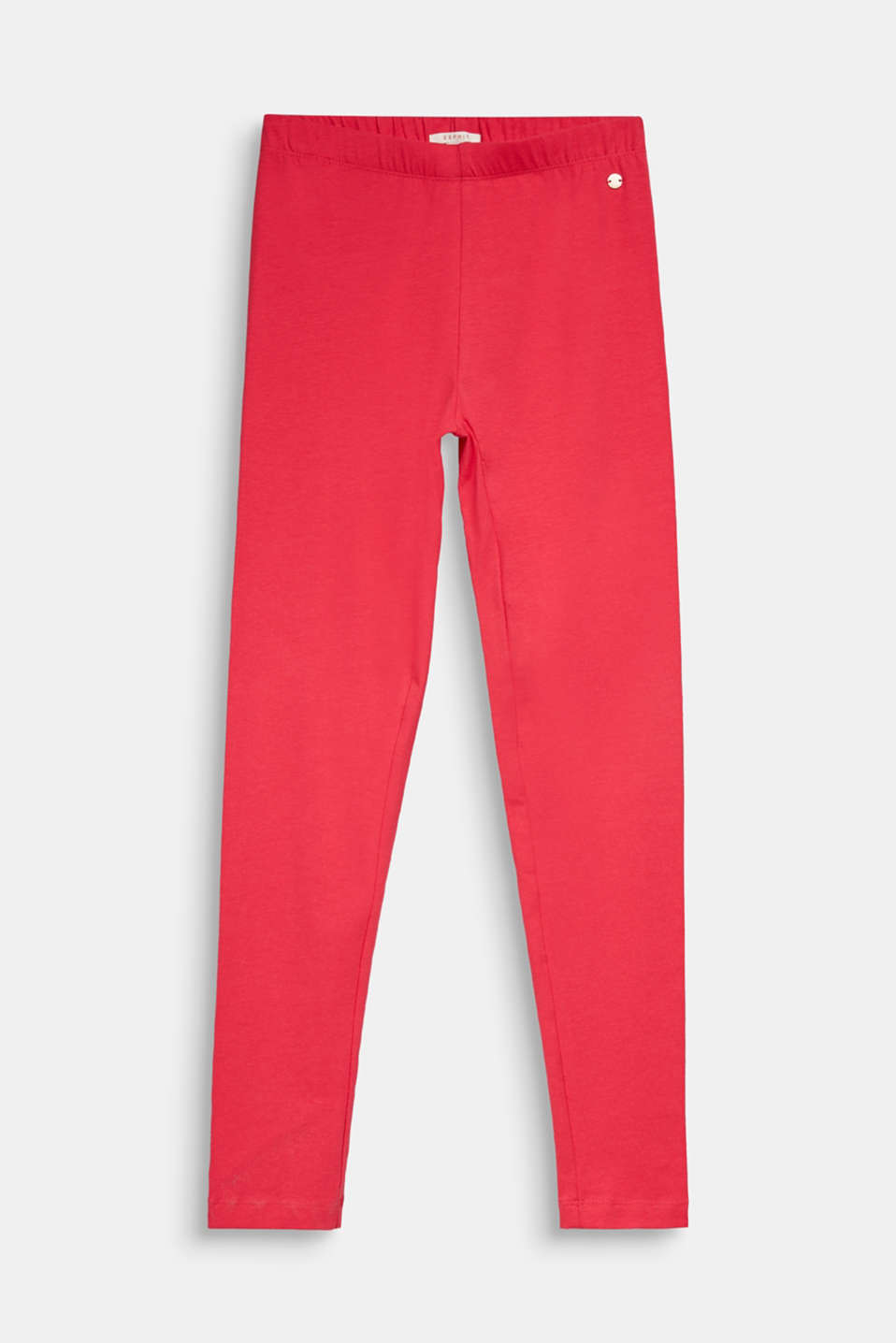 Leggings made of 100% cotton, LCRASPBERRY, detail image number 0