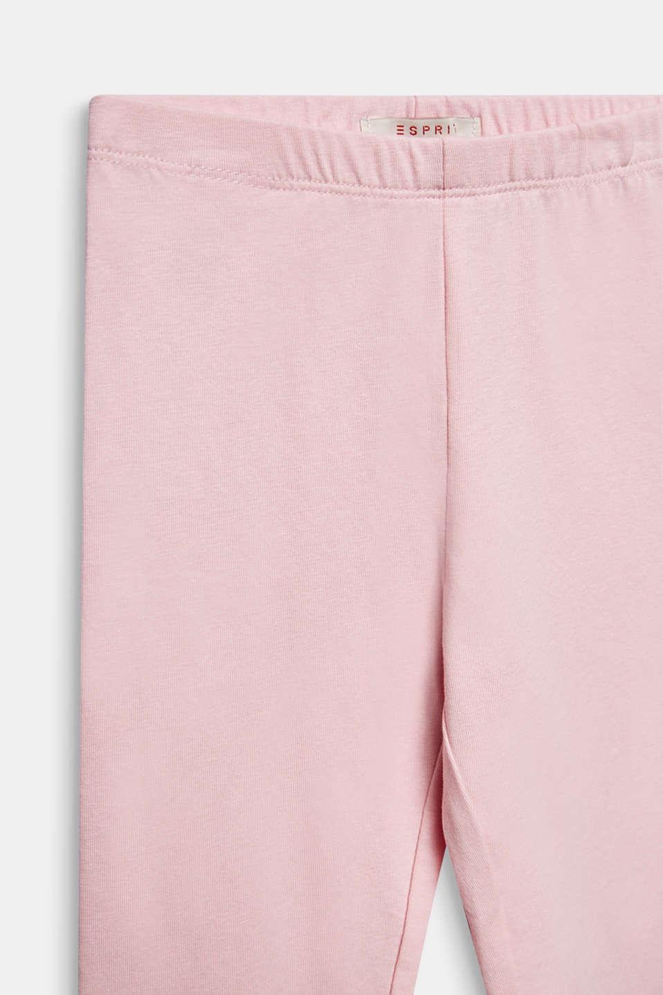 Opaque basic leggings, LIGHT PINK, detail image number 2