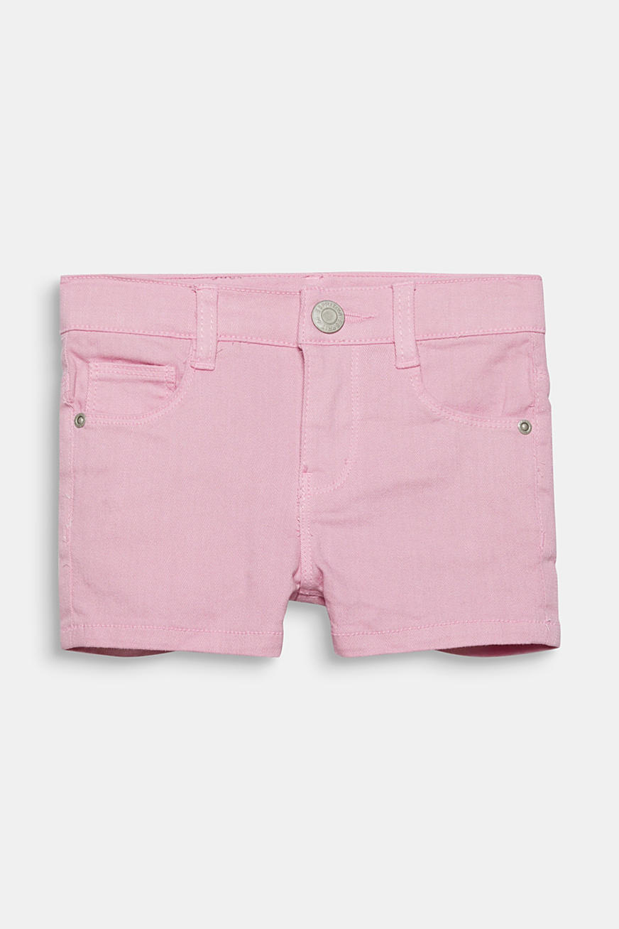 Colored Jeans-Shorts mit Verstellbund