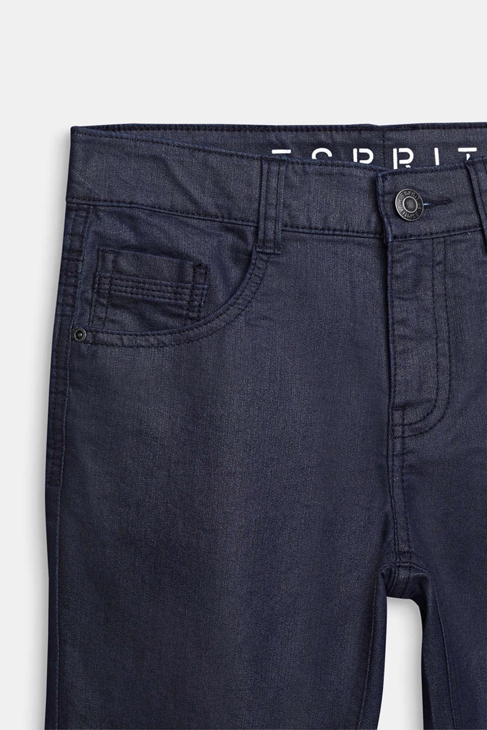 Denim shorts, LCRINSE WASH DEN, detail image number 2