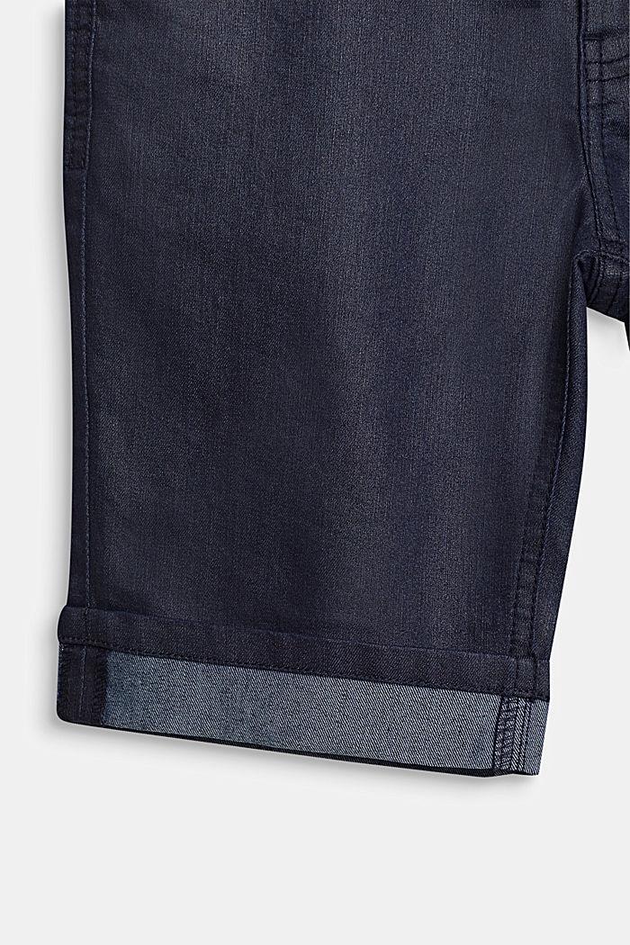 Denim shorts, RINSE WASH DENIM, detail image number 3