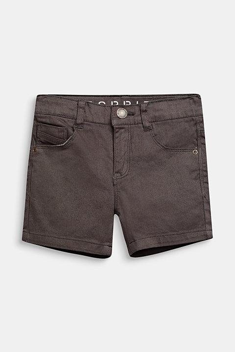 Stretch denim shorts in a slim fit