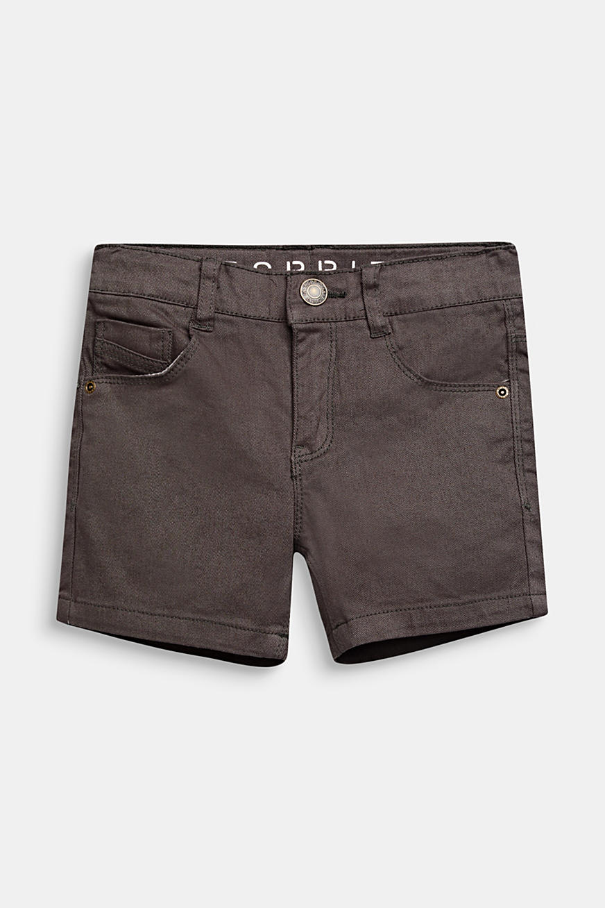 Denimshorts med stretch, slim fit