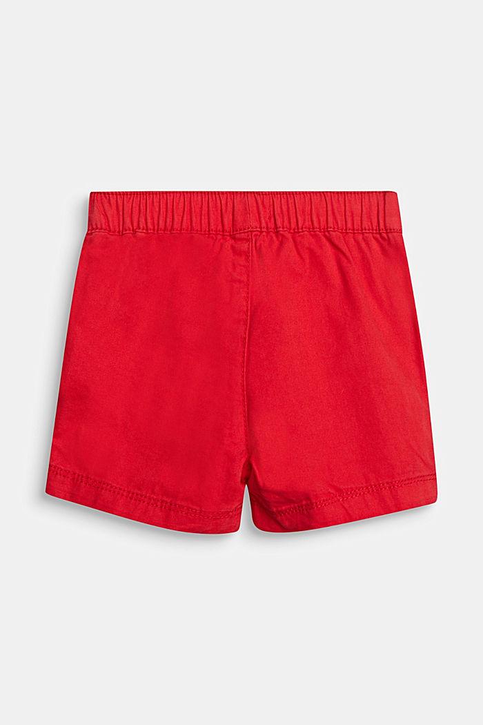 Web-Shorts aus 100% Baumwolle, RED, detail image number 2