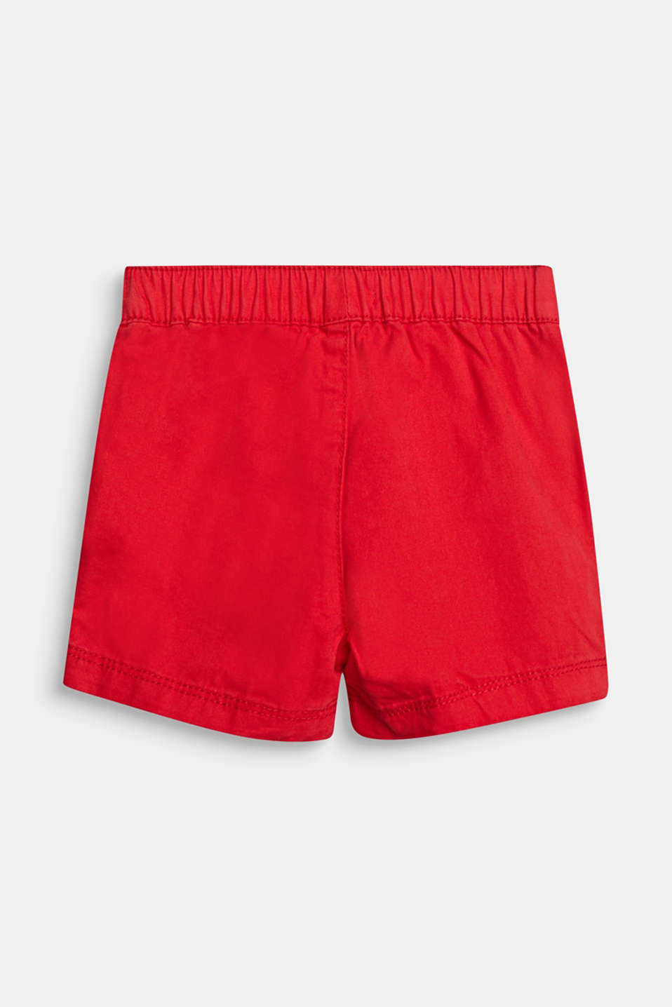 Woven shorts in 100% cotton, LCRED, detail image number 2