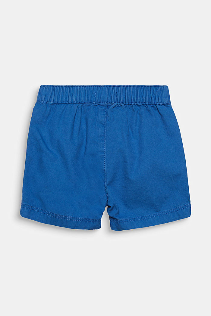 Woven shorts in 100% cotton, ELECTRIC BLUE, detail image number 2