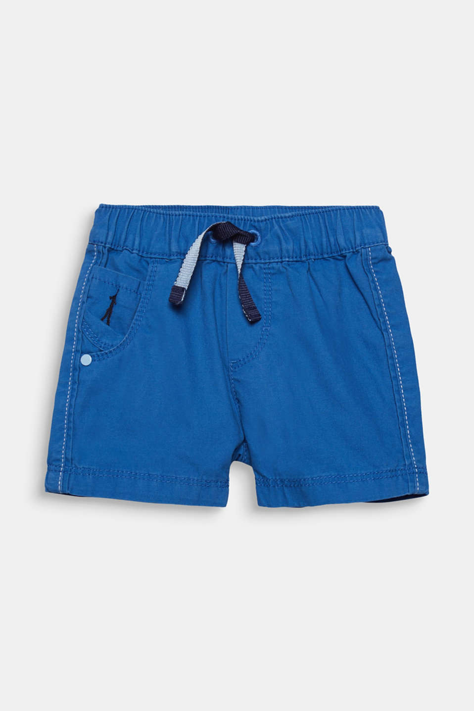 Esprit - Woven shorts in 100% cotton