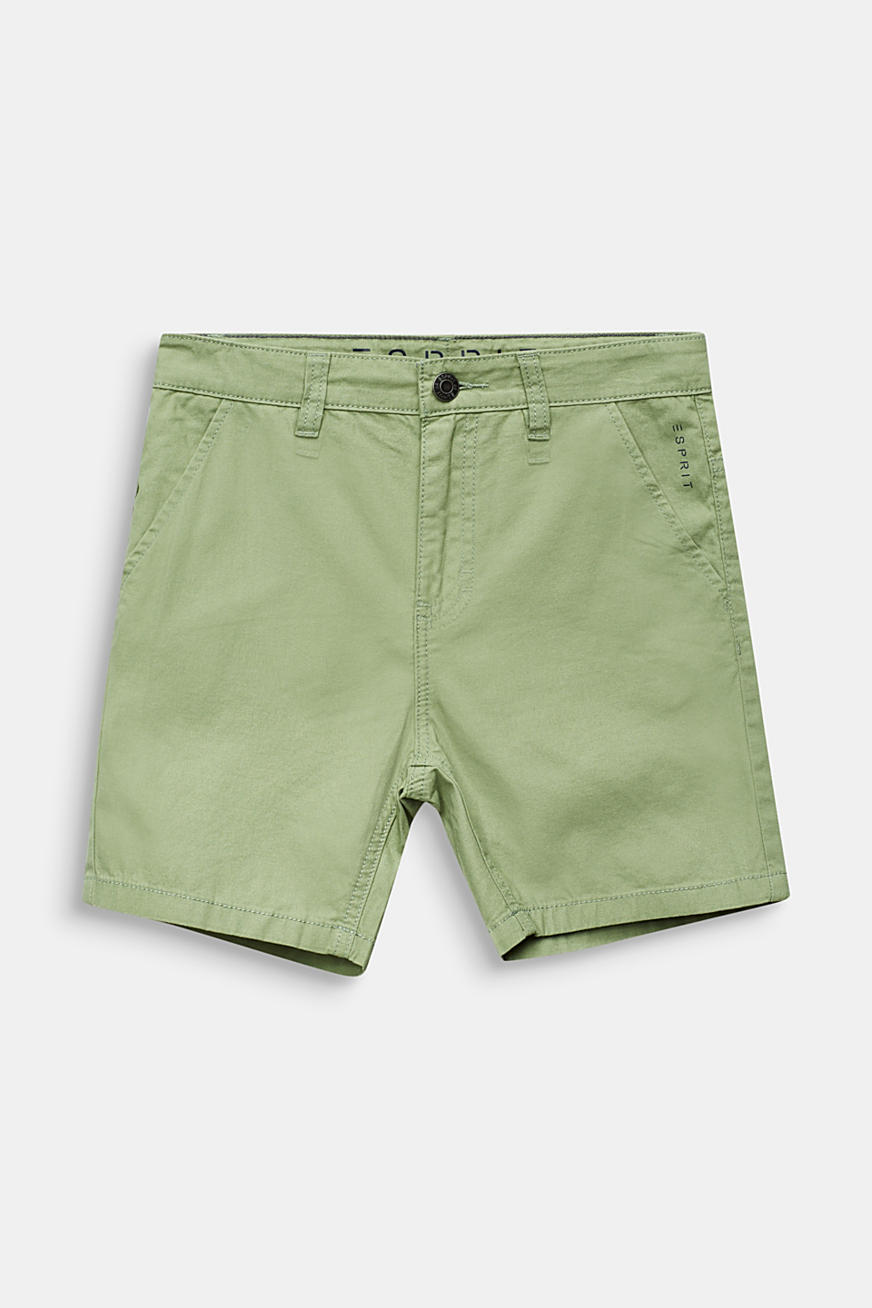 Woven shorts in 100% cotton