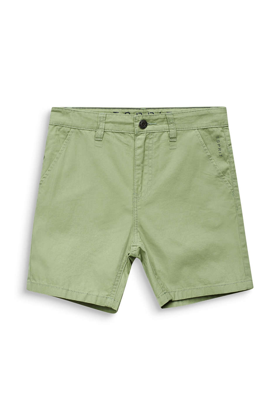 Woven shorts in 100% cotton, LCPASTEL GREEN, detail image number 3