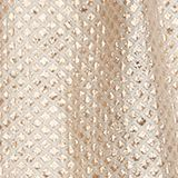 A-line gold jacquard skirt, LIGHT GOLD, swatch