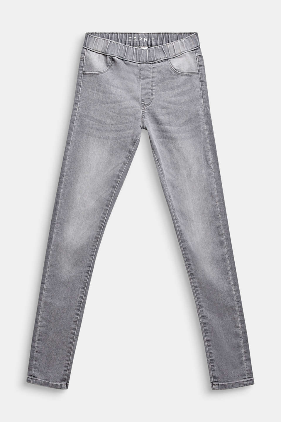 Esprit - Graue Jeggings im Washed-Look