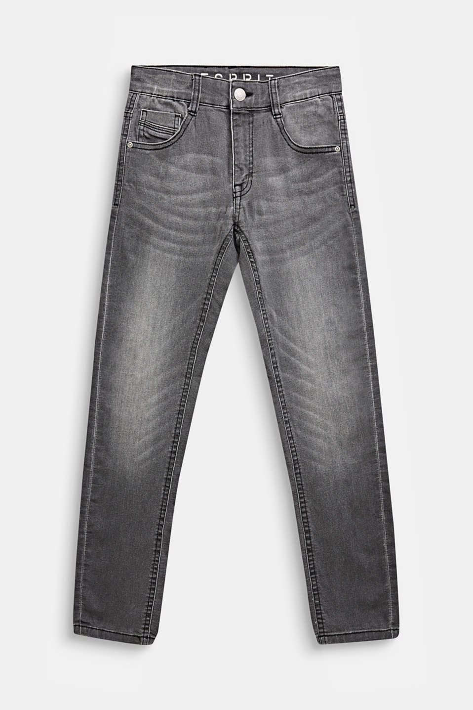 Esprit - Graue Superstretch-Jeans