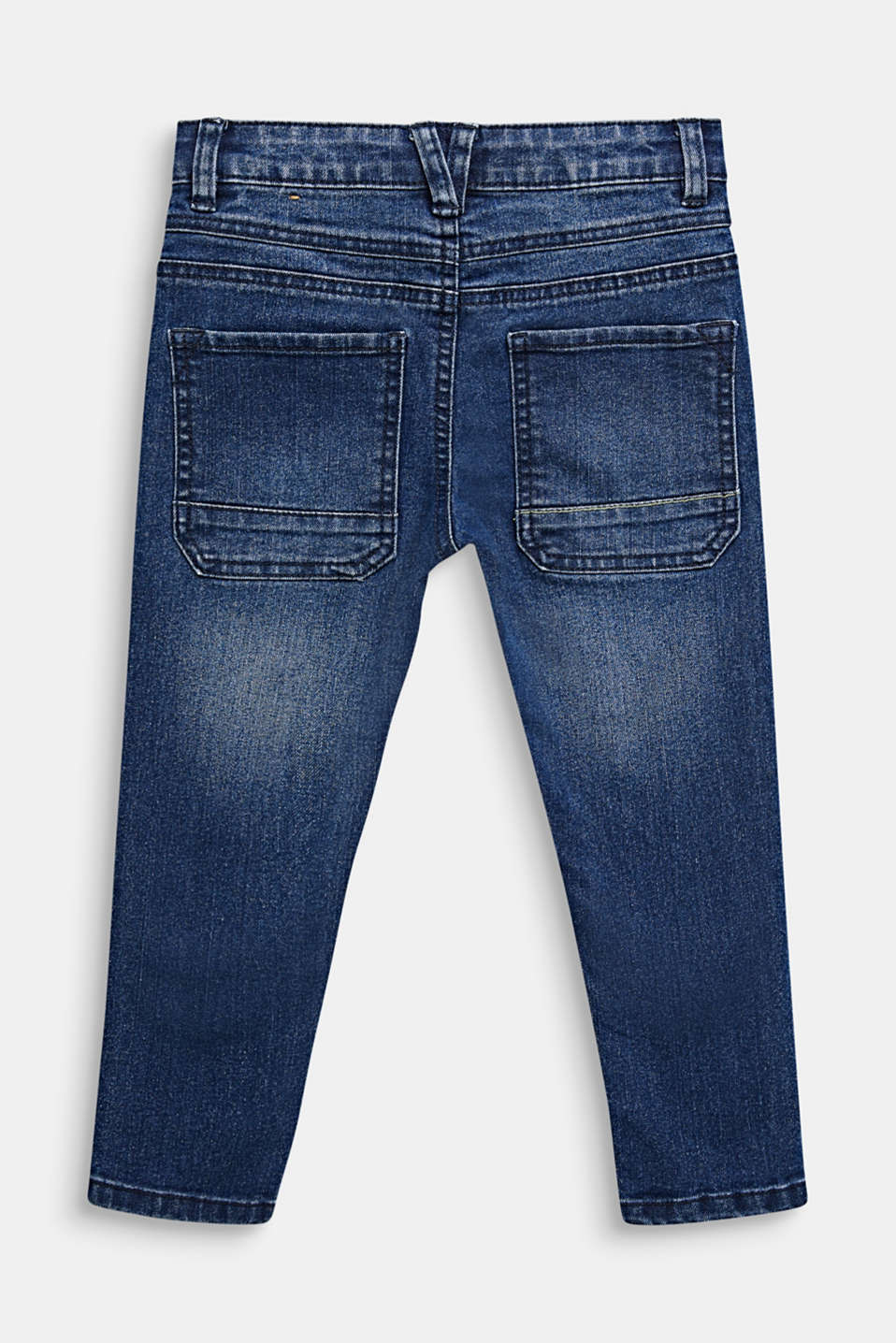 Stretch jeans with patch pockets, MEDIUM WASH DE, detail image number 1
