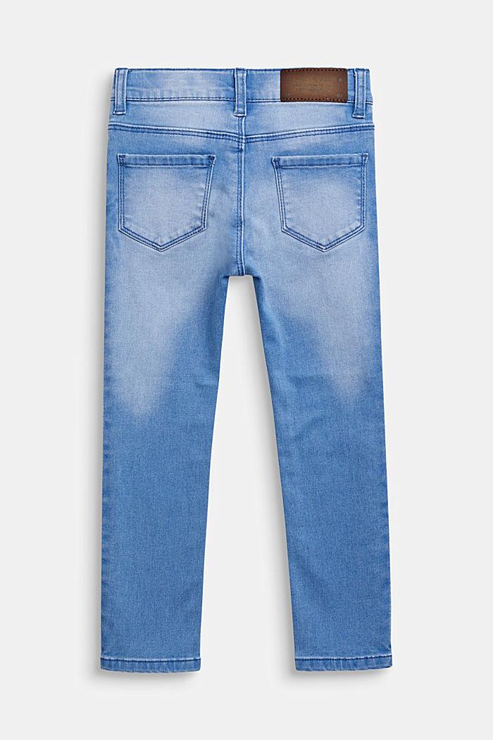 Jeans im trendy Washed-Look, Verstellbund