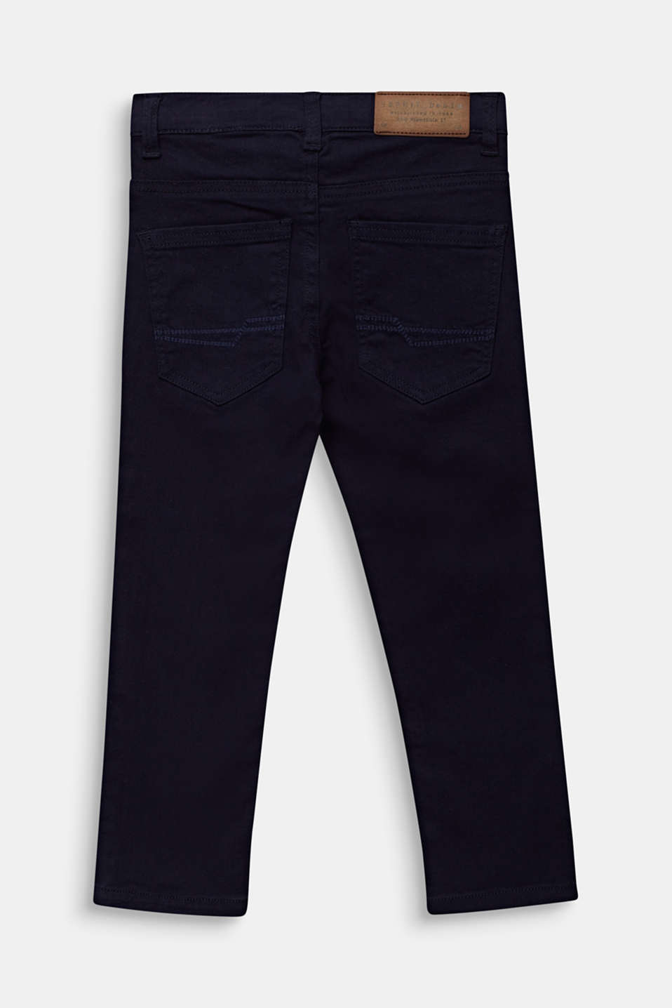 Coloured stretch jeans, adjustable waistband, MIDNIGHT BLUE, detail image number 1