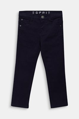 Coloured stretch jeans, adjustable waistband, MIDNIGHT BLUE, detail