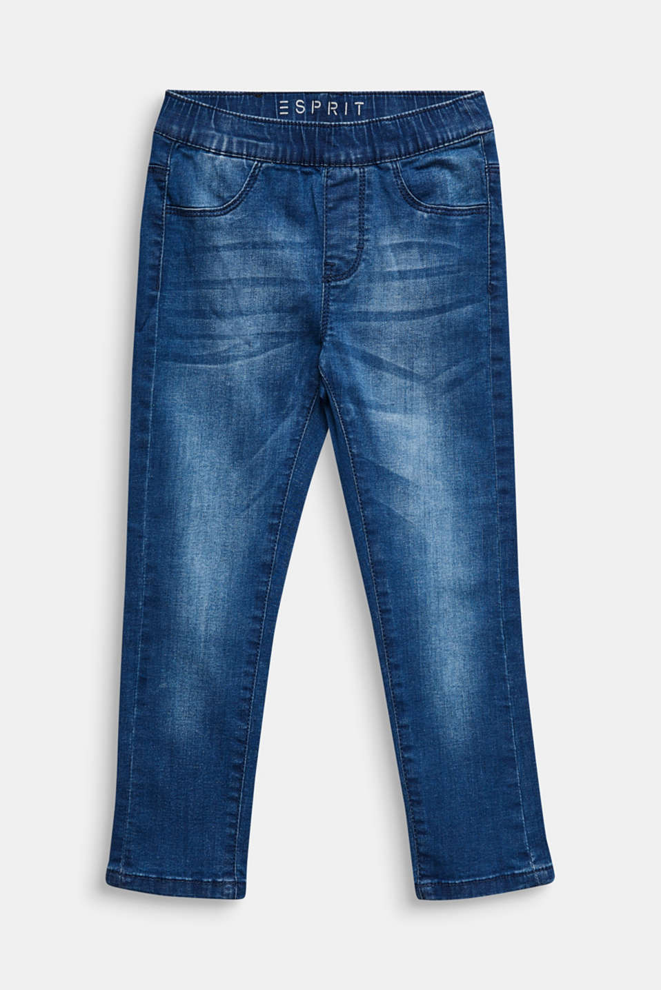 Esprit - Jegging met garment-washed look