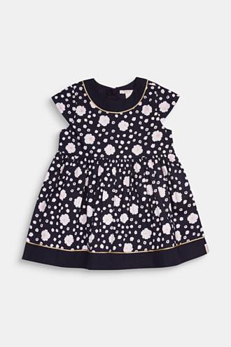 Floral print dress, 100% cotton