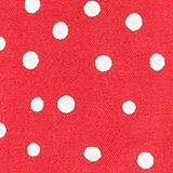 Woven polka dot dress with bows, RASPBERRY, swatch