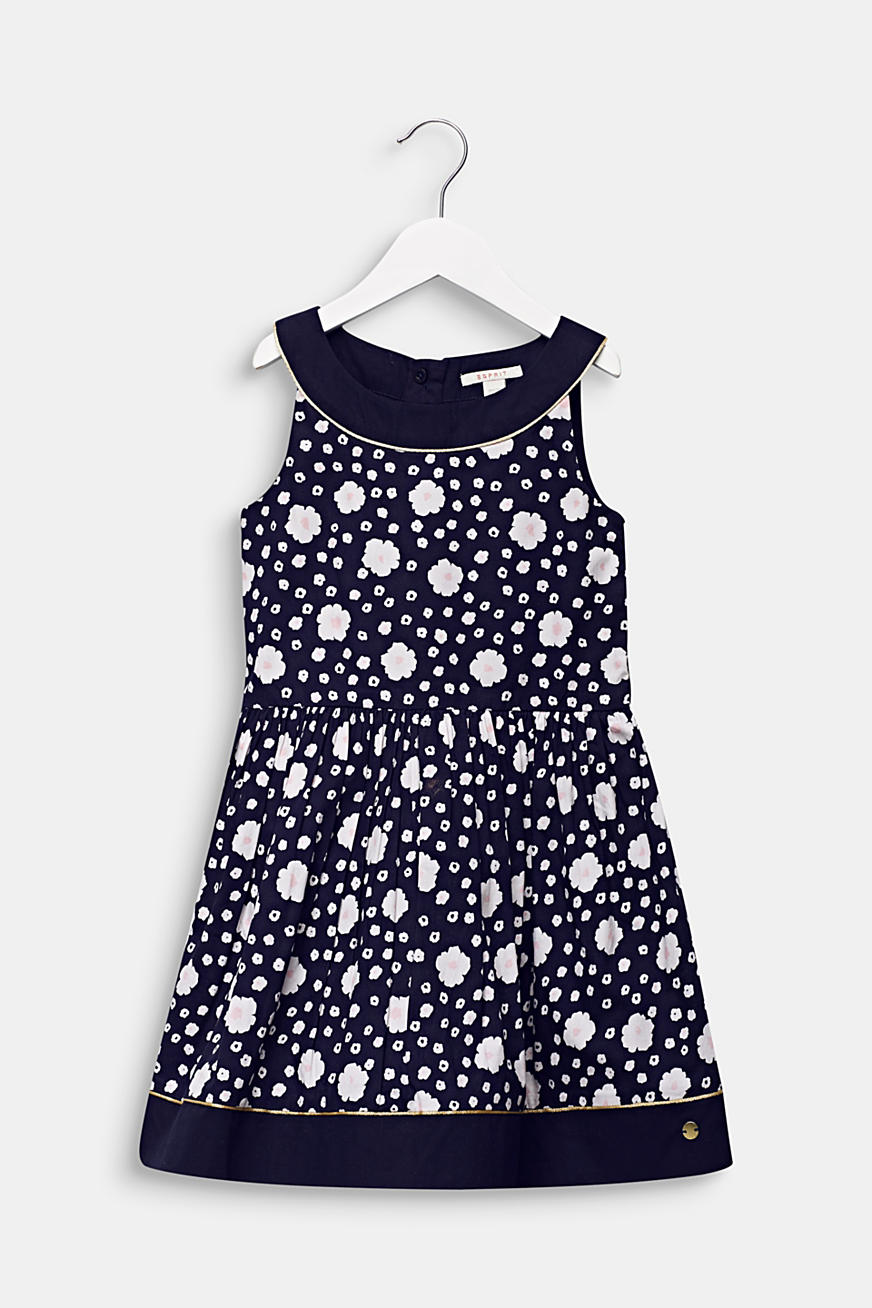 Floral print dress, 100% cotton
