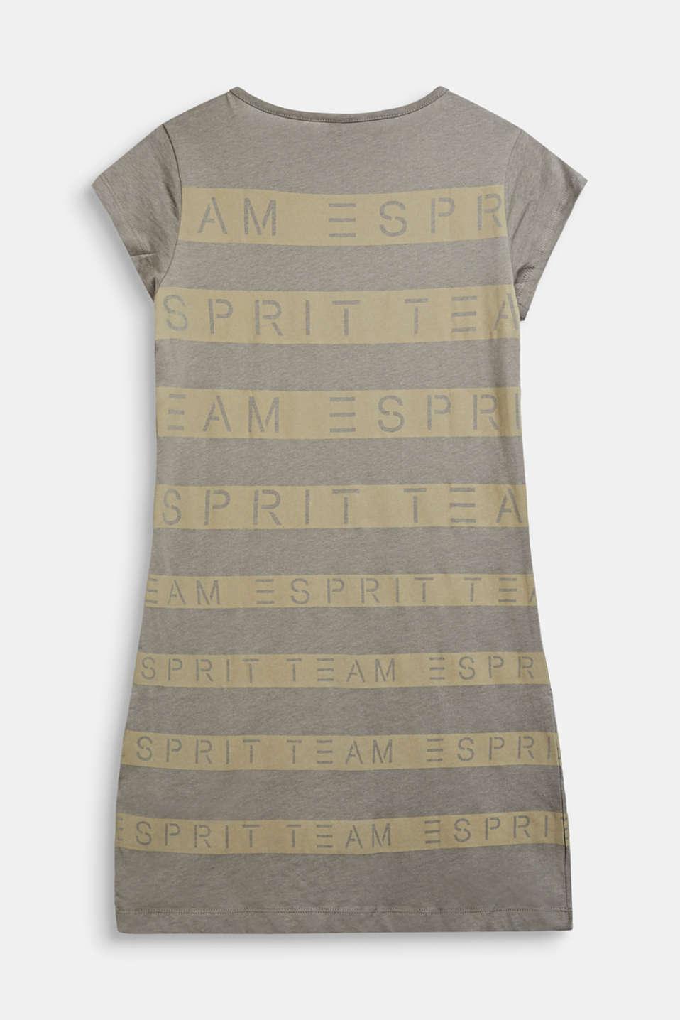 T-shirt dress made of 100% cotton, LCKAKI, detail image number 1