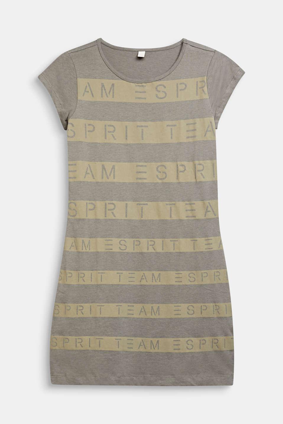 T-shirt dress made of 100% cotton, LCKAKI, detail image number 0