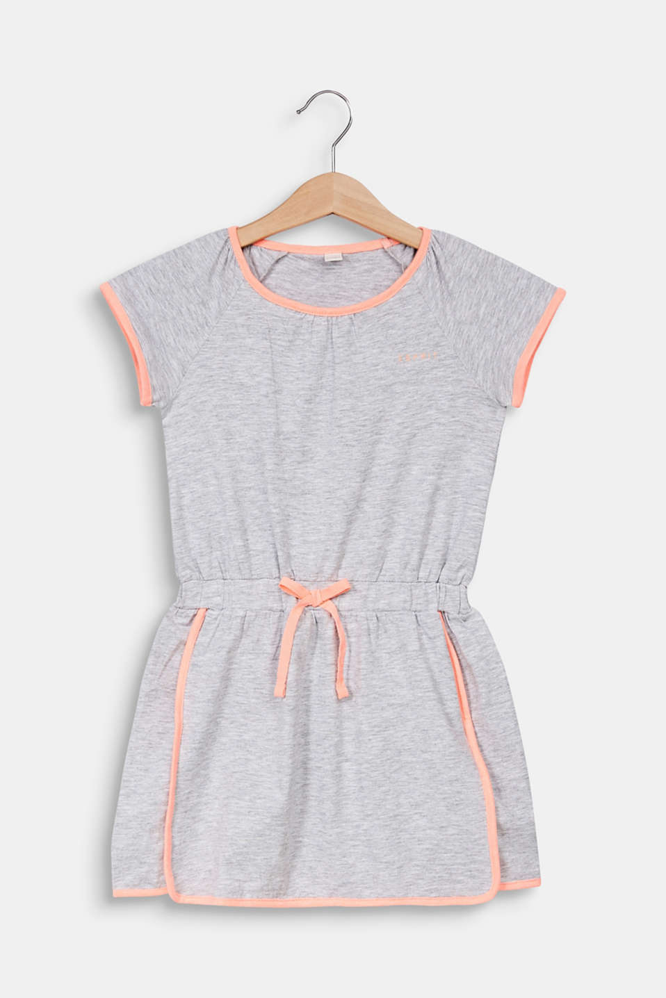 Esprit - Jersey dress with piping