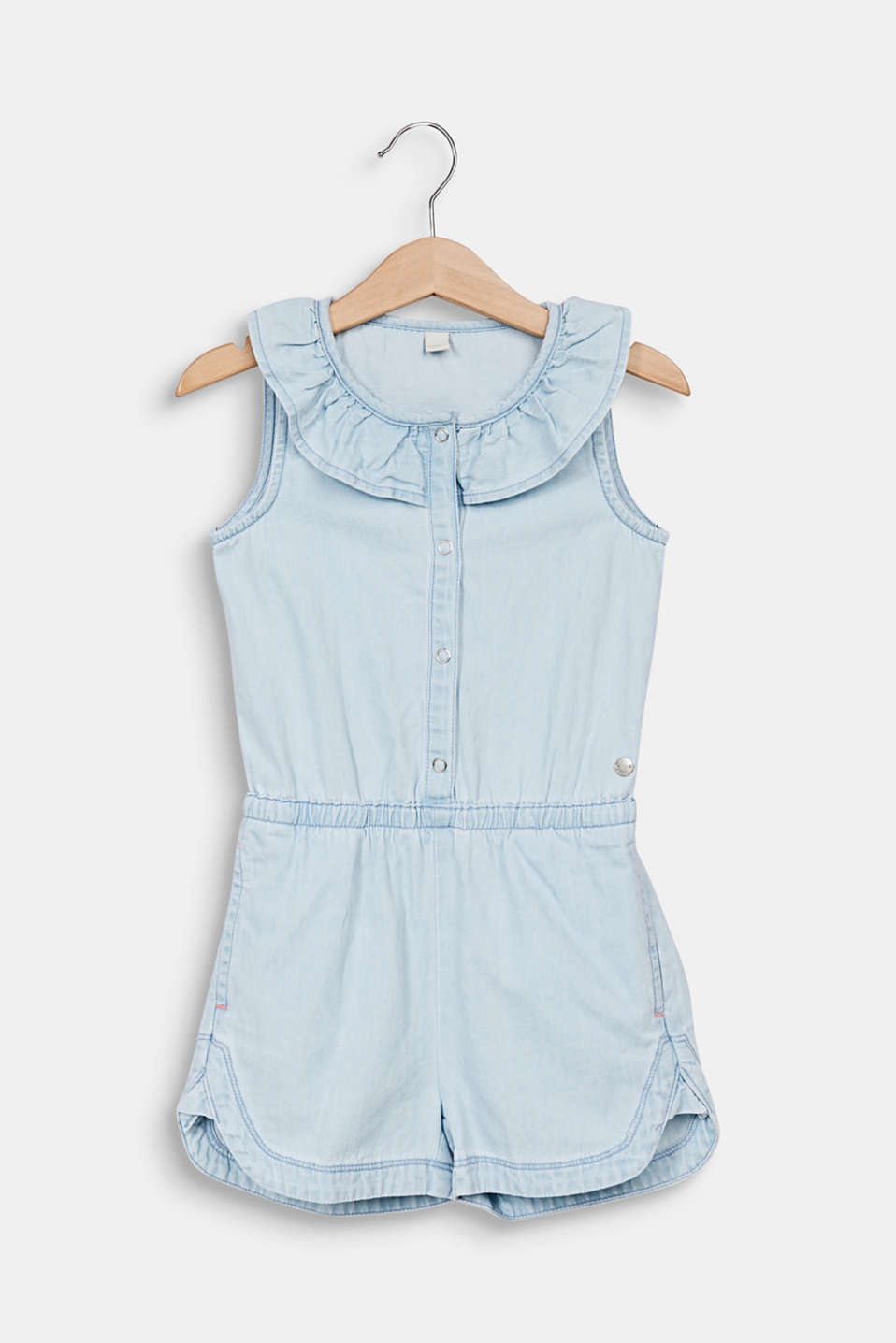 Esprit - Denim dungarees made of 100% cotton