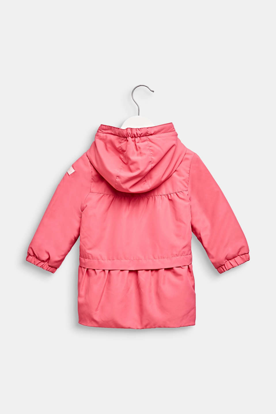 Lightly padded hooded parka, LCCANDY PINK, detail image number 1