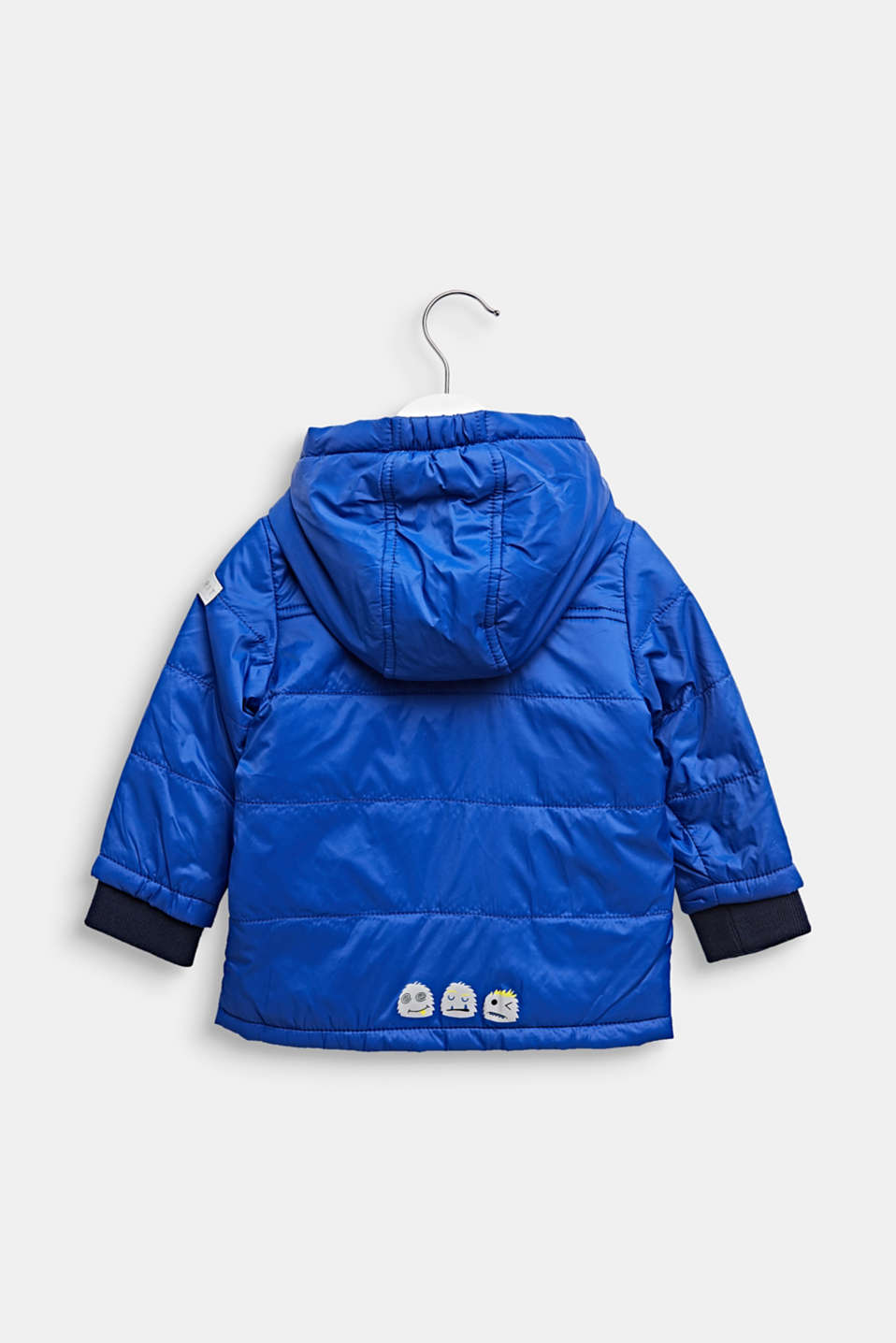Lightly padded quilted jacket with jersey lining, LCINFINITY BLUE, detail image number 1