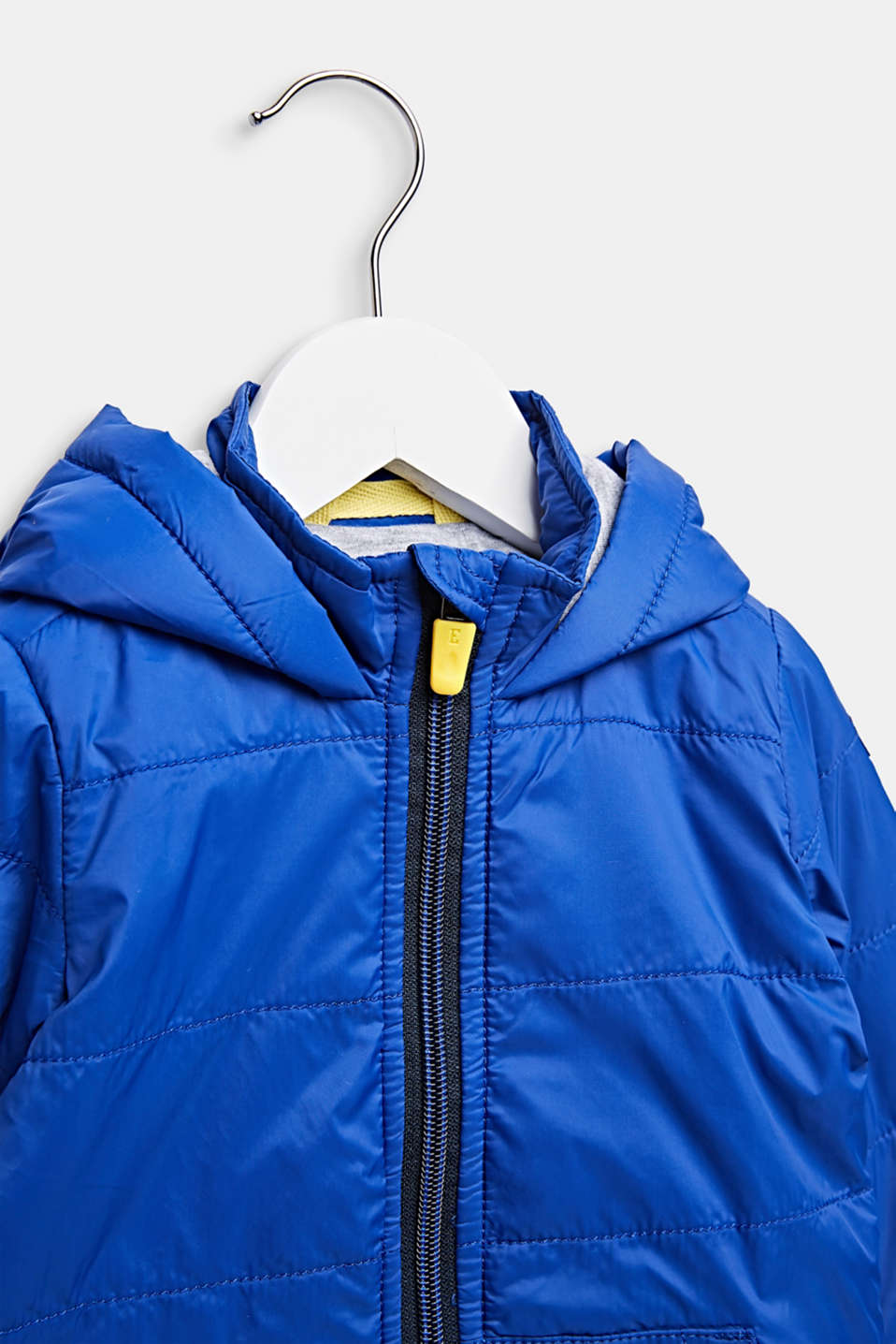 Lightly padded quilted jacket with jersey lining, LCINFINITY BLUE, detail image number 2