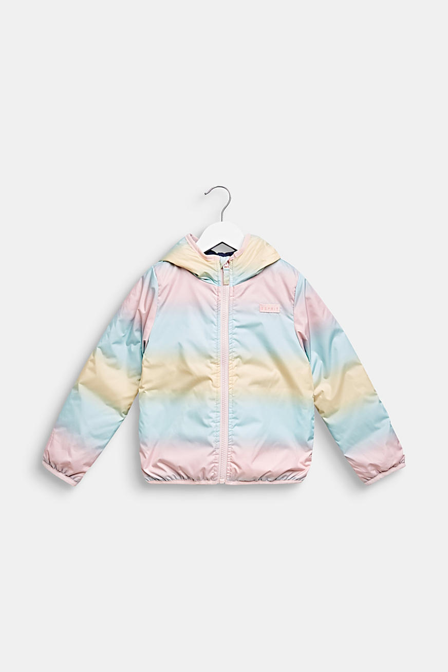 Padded reversible jacket