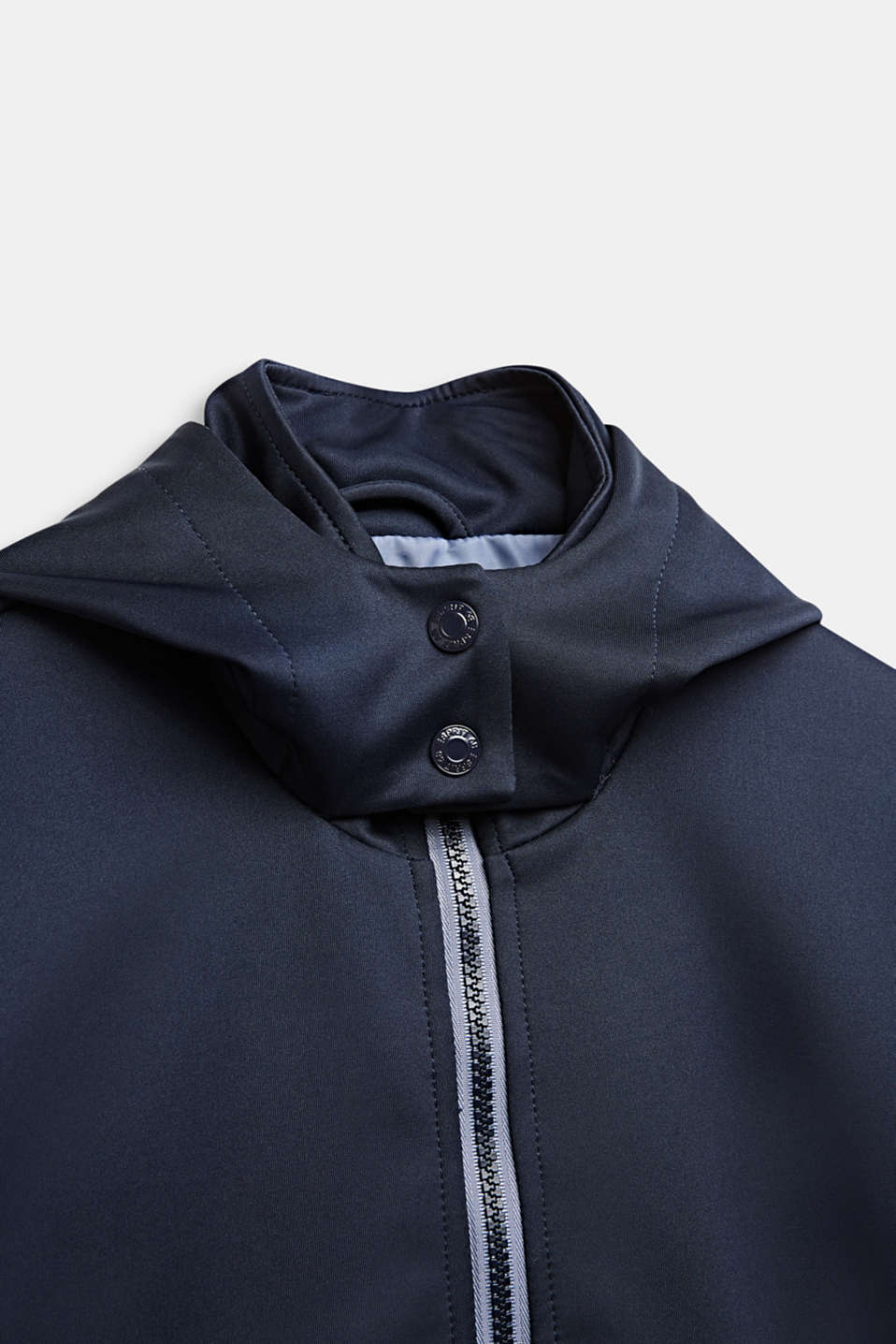 Softshell jacket with a hood, LCMIDNIGHT BLUE, detail image number 2