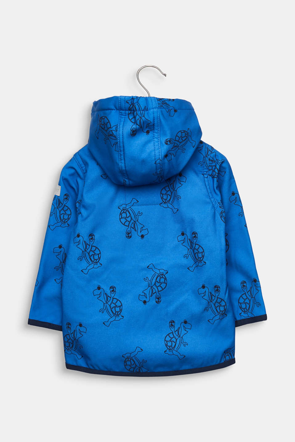 Softshell jacket with fleece on the inside, LCELECTRIC BLUE, detail image number 1