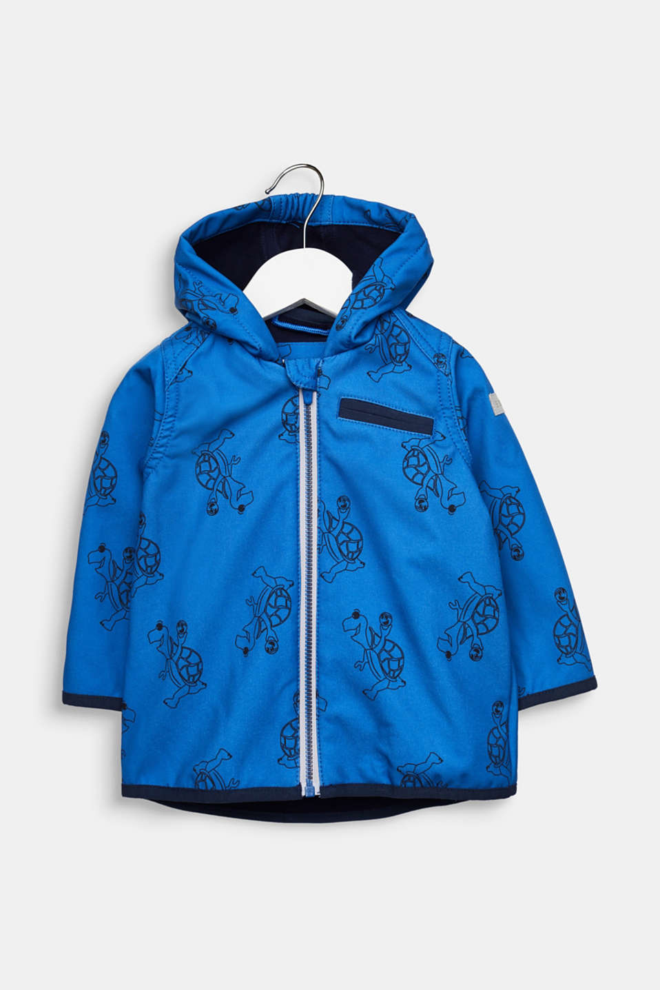 Softshell jacket with fleece on the inside, LCELECTRIC BLUE, detail image number 0